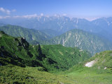 View Along the Hiking Trails of Mt. Hakuba, Northern Alps, Japan Photographic Print by Chris Kober