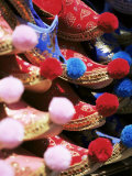 Turkish Slippers, Grand Bazaar (Great Bazaar) (Kapali Carsi), Istanbul, Turkey, Europe, Eurasia Photographic Print by Oliviero Olivieri