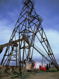 Oil Pump, Baku, Azerbaijan, Central Asia, Asia Photographic Print by Oliviero Olivieri