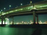 Odaiba, Rainbow Bridge, Tokyo, Japan Photographic Print by Christian Kober