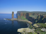The Old Man of Hoy, 150M Sea Stack, Hoy, Orkney Islands, Scotland, UK, Europe Photographie par David Tipling