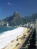 Ipanema Beach, Rio De Janeiro, Brazil, South America Photographic Print by Sergio Pitamitz