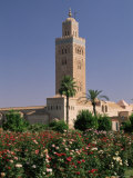 Minaret of the Koutoubia Mosque, Marrakesh (Marrakech), Morocco, North Africa, Africa Photographic Print by Sergio Pitamitz