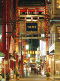 Chinatown, Yokohama, Japan Photographic Print by Christian Kober