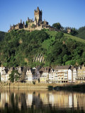 Cochem, River Mosel, Rhineland-Pfalz, Germany, Europe Fotografisk tryk af Oliviero Olivieri