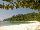Coral Bay Beach, Pangkor Island, Perak State, Malaysia, Southeast Asia, Asia Photographic Print by Richard Nebesky