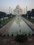 Taj Mahal, Unesco World Heritage Site, Agra, Uttar Pradesh State, India, Asia Photographic Print by James Gritz