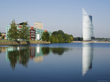 Hans Bank on the River Daugava, Riga, Latvia, Baltic States, Europe Photographic Print by Chris Kober
