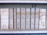 Historical Books at Strahov Monastery, Hradcany, Prague, Czech Republic, Europe Photographic Print by Richard Nebesky