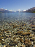 Clear Waters of Lake Wakatipu, Near Queenstown, Otago, South Island, New Zealand, Pacific Photographic Print by Chris Kober