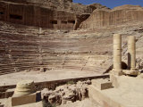 Nabatean Theatre, Petra, Unesco World Heritage Site, Jordan, Middle East Photographic Print by Sergio Pitamitz