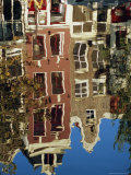 Reflection of Amsterdam Houses in Canal, Amsterdam, the Netherlands (Holland), Europe Photographic Print by Richard Nebesky
