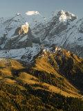 Marmolada Group, Dolomites, Bolzano Province, Trentino-Alto Adige, Italy, Europe Photographic Print by Sergio Pitamitz