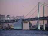 Odaiba, Rainbow Bridge, Tokyo, Japan Photographic Print by Chris Kober