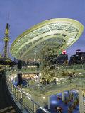 Skywalk, Nagoya City Center, Japan Photographic Print by Chris Kober