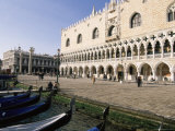 Palazzo Ducale (Doge's Palace), Venice, Unesco World Heritage Site, Veneto, Italy, Europe Photographic Print by Sergio Pitamitz