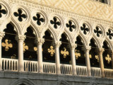 Architectural Detail of the Palazzo Ducale (Doge's Palace), Venice, Veneto, Italy, Europe Photographic Print by Sergio Pitamitz