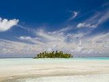 Blue Lagoon, Rangiroa, Tuamotu Archipelago, French Polynesia, Pacific Islands, Pacific Photographic Print by Sergio Pitamitz