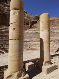 Nabatean Theatre, Petra, Unesco World Heritage Site, Jordan, Middle East Photographic Print by Sergio Pitamitz