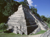 Temple of the Inscriptions, Palenque, Unesco World Heritage Site, Chiapas, Mexico, Central America Photographic Print by Richard Nebesky