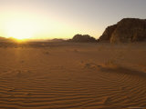 Desert, Wadi Rum, Jordan, Middle East Photographic Print by Sergio Pitamitz