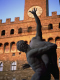 Piazza Della Signoria, Florence, Unesco World Heritage Site, Tuscany, Italy, Europe Photographic Print by Oliviero Olivieri