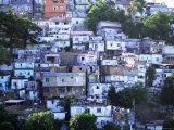 Hillside Favela, Rio De Janeiro, Brazil, South America Photographic Print by Sergio Pitamitz