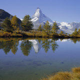 The Matterhorn Mountain (4478M), Valais (Wallis), Swiss Alps, Switzerland, Europe Photographic Print by Paolo Koch
