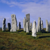 Callanish Standing Stones, Lewis, Outer Hebrides, Scotland, UK, Europe Photographic Print by Michael Jenner