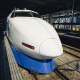 Bullet Train, Tokyo, Japan Photographic Print by Christopher Rennie