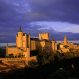 The Alcazar and Cathedral at Sunset, Segovia, Castilla Y Leon, Spain Photographic Print by Ruth Tomlinson