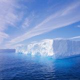 Tabular Iceberg, Antarctic Ocean, Antarctica Photographic Print by Geoff Renner