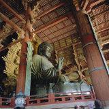 Todai-Ji Temple, Daibutsu Great Buddha, Nara, Kansai, Japan Photographic Print by Christopher Rennie