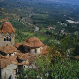 Pantanassa Monastery, Mistras, Greece, Europe Photographic Print by Tony Gervis