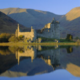 Kilchurn Castle Reflected in Loch Awe, Strathclyde, Scotland, UK, Europe Photographic Print by Roy Rainford
