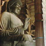 Buddha, Todaiji Temple, Japan Photographic Print by G Richardson