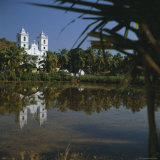 Country Church, Goa, India, Asia Photographic Print by G Richardson