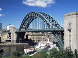 The Tyne Bridge, Newcastle (Newcastle-Upon-Tyne), Tyne and Wear, England, United Kingdom, Europe Photographic Print by James Emmerson