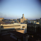 View of City from Hotel Seville, Havana, Cuba, West Indies, Central America Photographic Print by Lee Frost