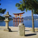 Floating Torii, Miyajima Island Near Hiroshima, Japan Photographic Print by Christopher Rennie