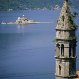 Kotor Bay Seen from Perast, Montenegro, Europe Photographic Print by G Richardson