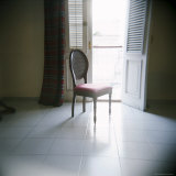 Chair in Front of Window, Hotel La Union, Cienfuegos, Cuba, West Indies, Central America Photographic Print by Lee Frost