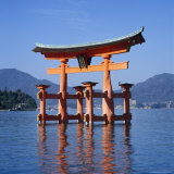 Torii Gate Shrine, (Itsukushima-Jingu Miya Jima), Japan Photographic Print by Christopher Rennie