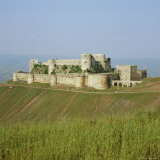 Crusader Castle, Krak Des Chevaliers, Syria Photographie par Michael Jenner