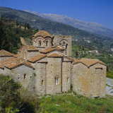 The Church of St. Sophia, Mistras, Greece, Europe Photographic Print by Tony Gervis