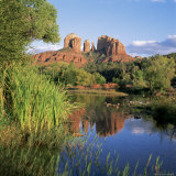 Cathedral Rock, Sedona, Arizona, United States of America (U.S.A.), North America Photographic Print by Tony Gervis