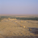 View Over Graeco-Roman City Towards Roman Temple of Bel, 45 AD, Palmyra, Syria, Middle East Photographic Print by Christopher Rennie