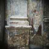 Wall Detail with Old Paint, Havana, Cuba, West Indies, Central America Photographic Print by Lee Frost
