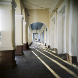Arcade, Cienfuegos, Cuba, West Indies, Central America Photographic Print by Lee Frost