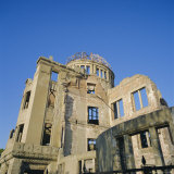 Atomic Bomb Dome, Hiroshima Memorial, Hiroshima, Japan Photographic Print by Christopher Rennie